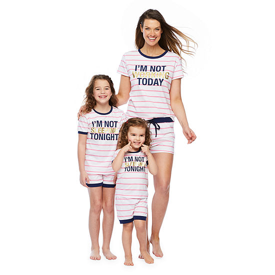 "Mommy and Me ""I'm Not"" 2pc Short Set"