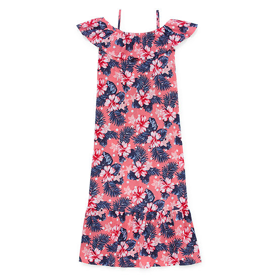 Arizona Sleeveless Floral Maxi Dress - Preschool / Big Kid Girls