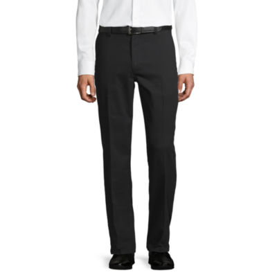 St. John's Bay Easy Care Mens Classic Fit Flat Front Pant