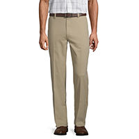 Deals on St. Johns Bay Easy Care Mens Stretch Classic Fit Flat Front Pant