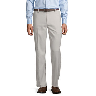 St. John's Bay Easy Care Classic Flat Front Pants