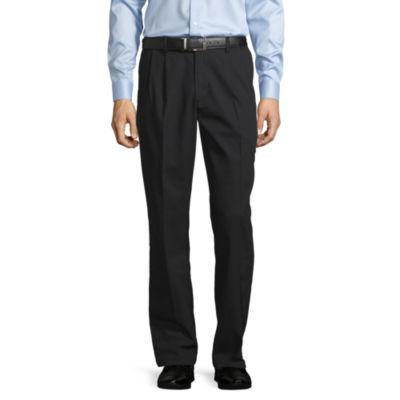 St. John's Bay Easy Care Mens Classic Fit Pleated Pant