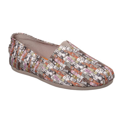Skechers Bobs Womens Plush Slip-On Shoe Closed Toe