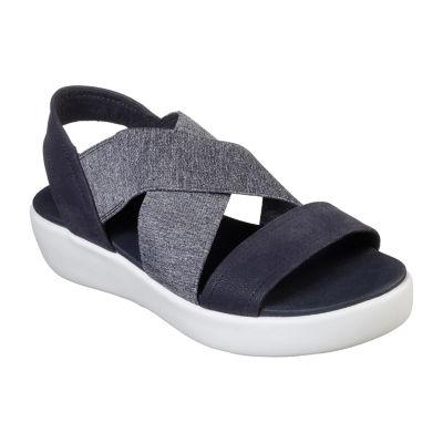 Skechers Womens Light Star Strap Sandals