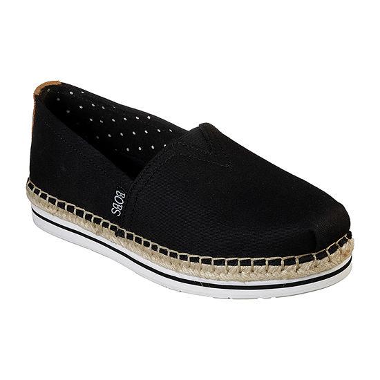 Skechers Bobs Womens Bobs Breeze Closed Toe Slip-On Shoe