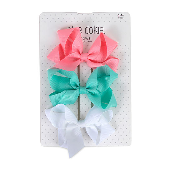 Okie Dokie 3-pc. Head Clip Bows
