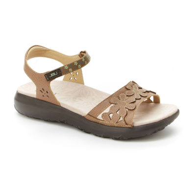 J Sport By Jambu Womens Wildflower Strap Sandals