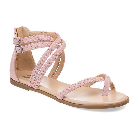 Journee Collection Womens Imogen Flat Sandals