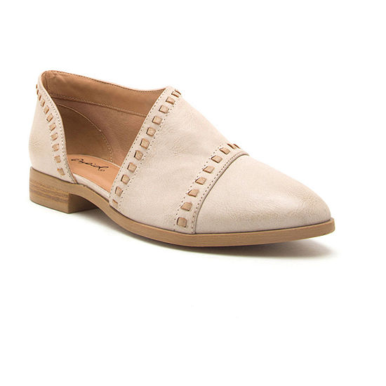 Qupid Womens Tuxedo 123 Loafers Closed Toe