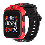 Itouch Playzoom Boys Black Smart Watch-03517m-51-Blt