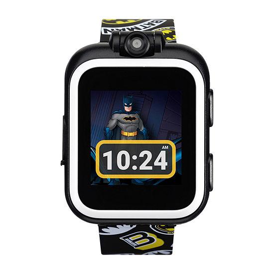 Itouch Playzoom Batman Boys Black Smart Watch-50090m-42-Blt