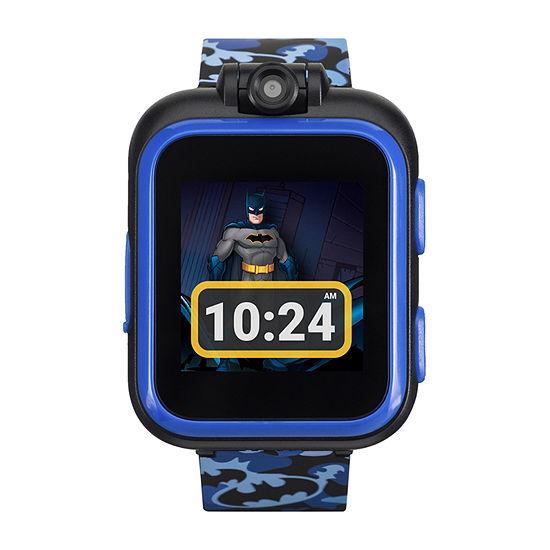 Itouch Playzoom Batman Boys Blue Smart Watch-50115m-42-Blt
