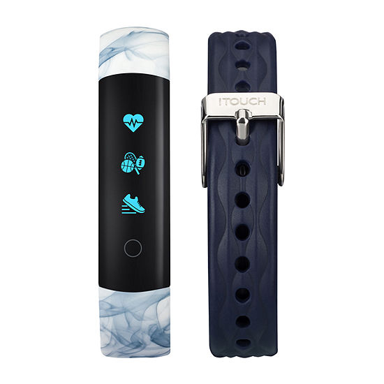 Itouch Slim Womens Multi-Function Blue Smart Watch-7591b-51-H05