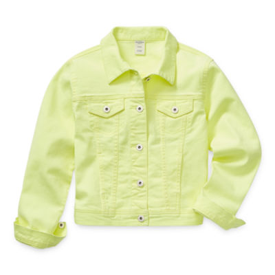 Arizona Little & Big Girls Denim Jacket
