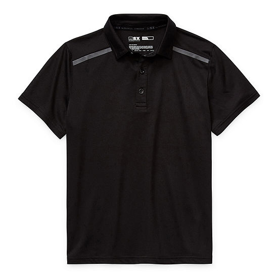 Msx By Michael Strahan Little & Big Boys Short Sleeve Polo Shirt