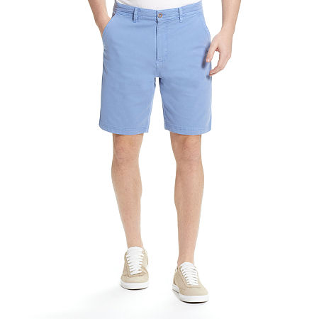 American Threads Mens Chino Short, 42 , Blue