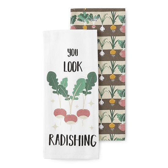 Homewear You Look Radishing 2-pc. Kitchen Towel
