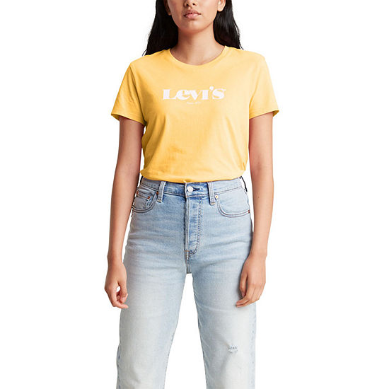 Levi's Perfect Womens Crew Neck Short Sleeve T-Shirt