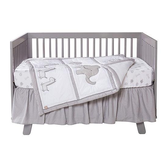 Trend Lab® Safari Chevron 3-pc. Crib Bedding Set