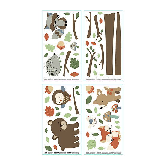 Carter's® Friends Collection Wall Decals