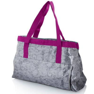 Deluxe Yoga Paisley Tote Pack