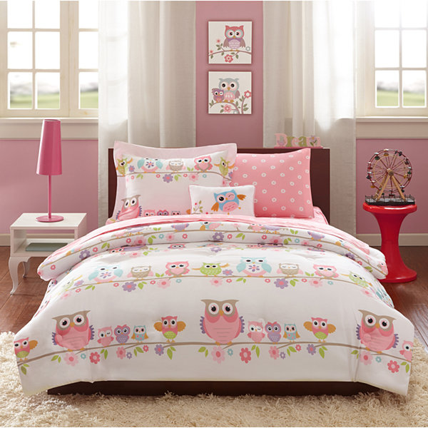 Mi Zone Nocturnal Nellie Complete Bedding Set with Sheets