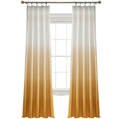 Vue™ Signature Arashi Fashion Rod-Pocket Curtain Panel