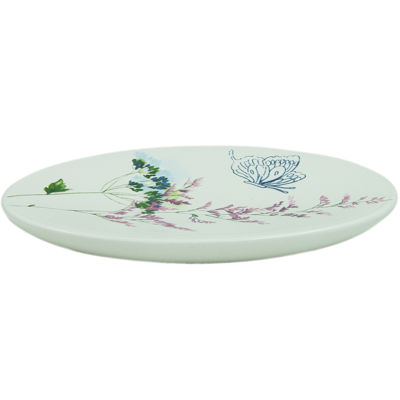 Bacova Indigo Wildflowers Soap Dish