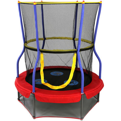 """Skywalker Trampolines® 48"""" Round Zoo Adventure Bouncer with Enclosure"""