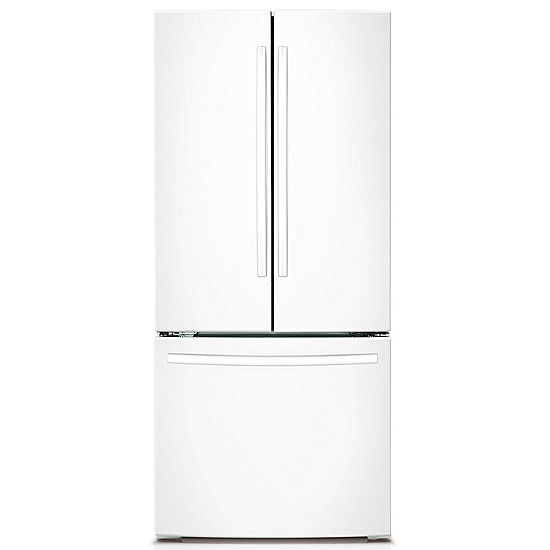 Samsung 218 Cu Ft 30 Wide French Door Refrigerator Jcpenney