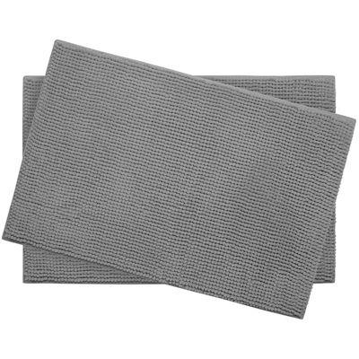 "Bounce Comfort Plush Memory Foam Chenille 17x24"" 2-pc. Bath Mat Set"