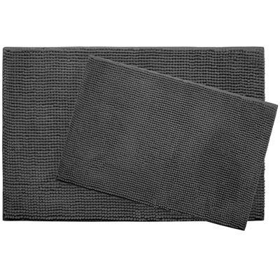 Bounce Comfort Plush Memory Foam Chenille 2-pc. Bath Mat Set
