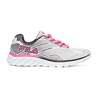 Fila Memory Primeforce 4 Womens Running Shoes (Lt Gray Fuchsia Ro)