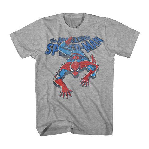 Vintage Spider-Man Short-Sleeve Graphic Tee