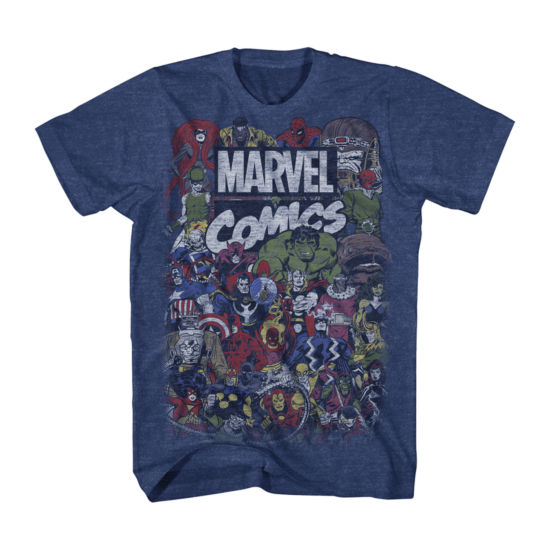 Vintage Marvel Comics Group Graphic Tee