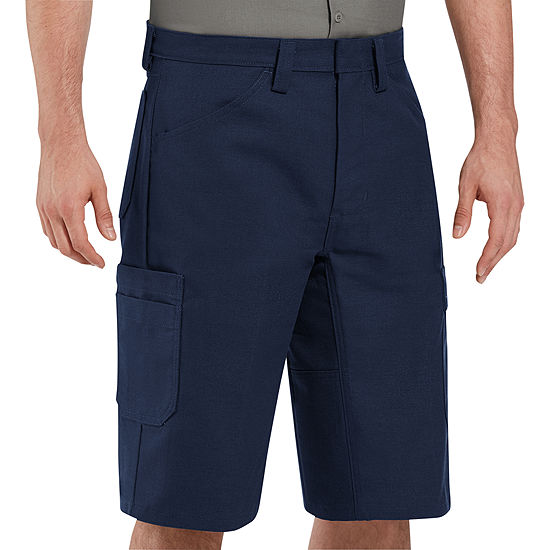 Red Kap® Scratchless Shop Flat-Front Shorts