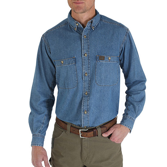 Wrangler® RIGGS 3W510 Denim Work Shirt