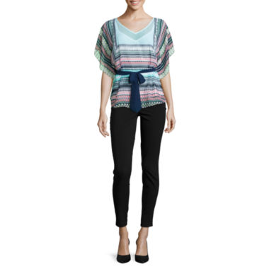 jcpenney.com | Alyx® Butterfly Woven Top or Millennium Pants
