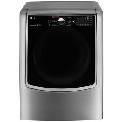 LG ENERGY STAR® 9.0 cu. ft. Ultra Large Smart Wi-Fi Enabled High-Efficiency Gas SteamDryer™ with SteamSanitary™ TurboSteam™