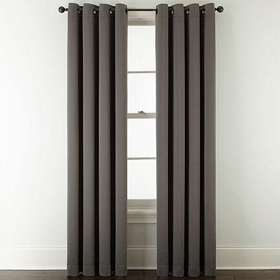Studio Mckenna Room Darkening Grommet Top Curtain Panel Jcpenney