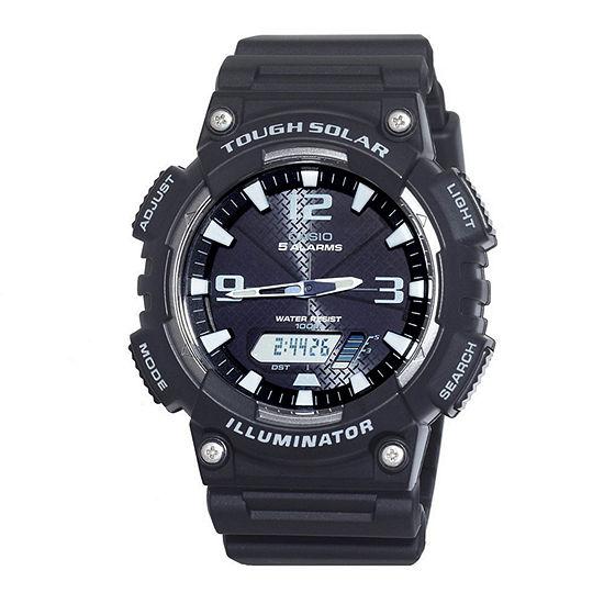 Casio Unisex Black Strap Watch Aq S810w 1av