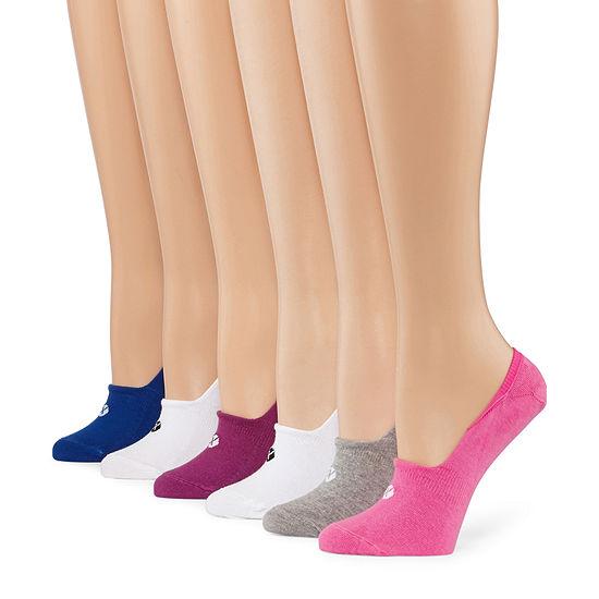 Xersion 6 Pair Liner Socks - Womens