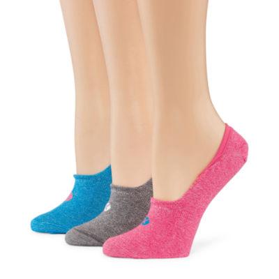 Xersion 3 Pair No Show Socks - Womens