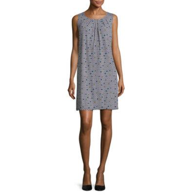 Worthington Sleeveless Trapeze Dress