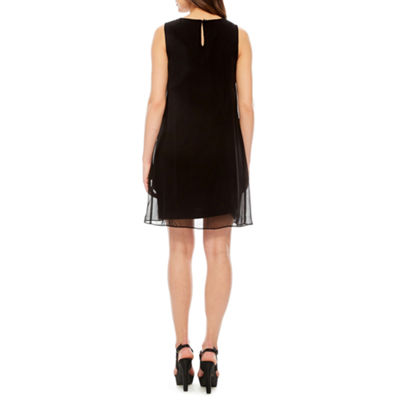Studio 1 Sleeveless Beaded Shift Dress