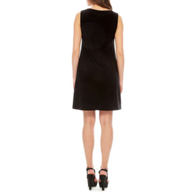Ronni Nicole Sleeveless Beaded Sheath Dress