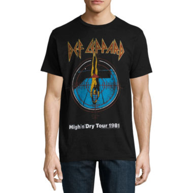 Def Leppard High N Dry Diver Graphic Tee