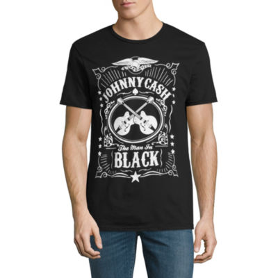Johnny Cash Man In Black Graphic Tee