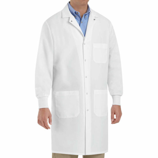 Red Kap Unisex Lab Coat Big and Tall