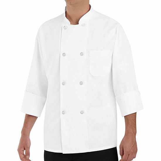 Chef Designs® Men's 0403 Long-Sleeve Chef Coat